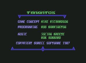 Thanatos main screen